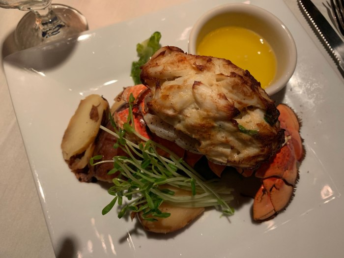 Belvedere Inn Stuffed Lobster Tail