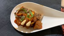 Sweet cocoa eggplant camponata from Say Cheese