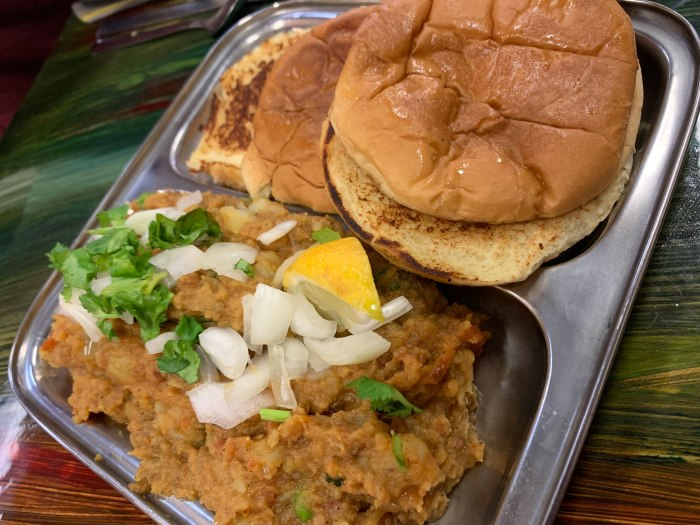 Rangoli Indian Street Food Pav Bhaji