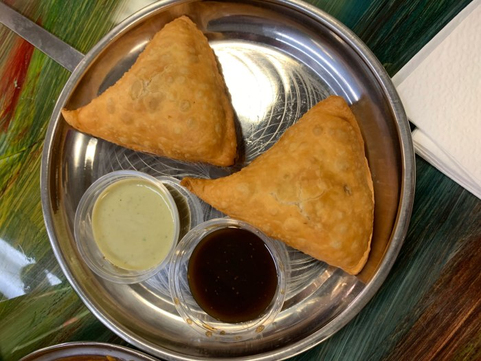 Rangoli Indian Street Food Samosas