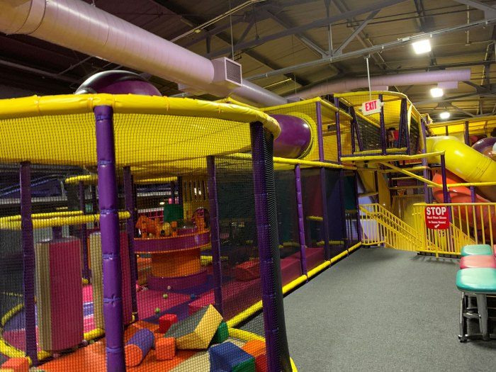 Ballocity - located upstairs at the Works at Wyomissing - is like a cross between a ball pit and a giant obstacle course.
