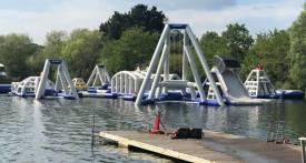 thorpe lake, aqua park surrey, water park surrey, water park west london