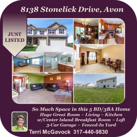 8138 Stonelick Dr, Avon