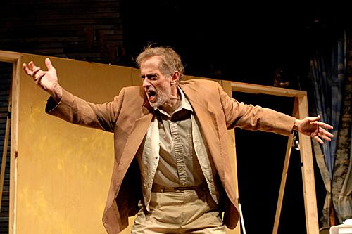 Steve Hendrickson as the Poet, photo by Rick Teller.