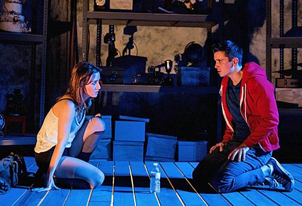 Jasper in Deadland with  Allison Scagliotti, Matt Doyle.