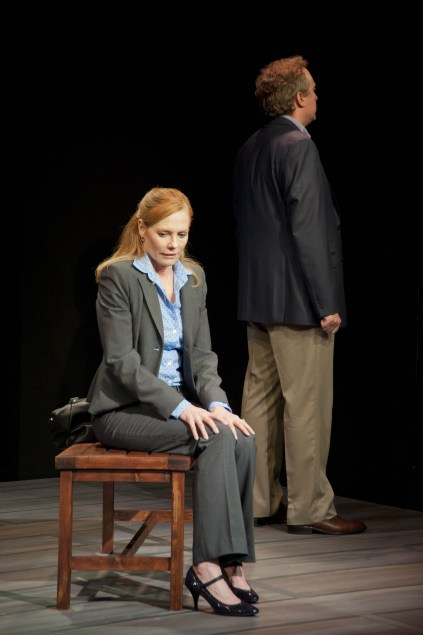 Marg Helgenberger and Brent Langdon. Photo by Kevin Sprague.