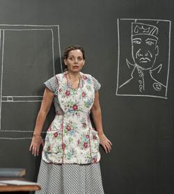 Ana Graham as Antonietta. Photo: Kevin Sprague.
