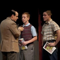 Christopher Hirsh, Noah Bailey and Joey LaBrasca. Photo by Kevin Sprague.