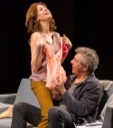 (L to R): Jessica Hecht (Suzanne) and Eric Bogosian (Neil). Photograph T .Charles Erickson.