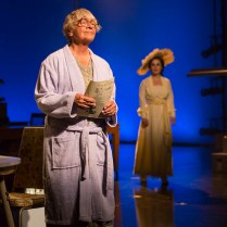Pictured (L to R): Estelle Parsons (Lucy Anderson) and Lauren Worsham (Lucy Lemay). Photograph T. Charles Erickson.