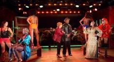 Broadway Bounty Hunter with Annie Golden, Alan Green, Badia Farha & Ensemble. Photo by Scott Barrow.