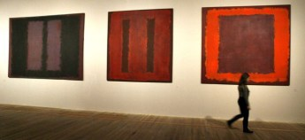 At the Tate Modern Gallery in London.