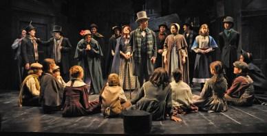 Top Pick: A Christmas Carol at Berkshire Theatre Group. Photo: Jaime Davidson.