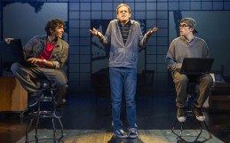 (l to r) Levin Valayil, Taylor Trensch and Ned Riseley. Photo by Daniel Radar.