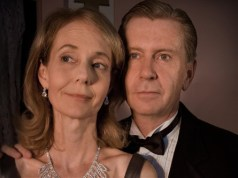 Susan Fullerton and Director Carl Ritchie in the 2010 TSC production of Noel Coward's Private Lives.