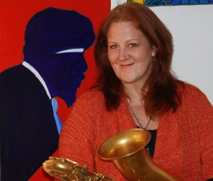 Claire Daly plays Thelonious Monk tribute March 29, 2013 in Pittsfield, MA