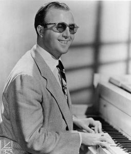 George Shearing, 1959; photo by James Kriegsmann.