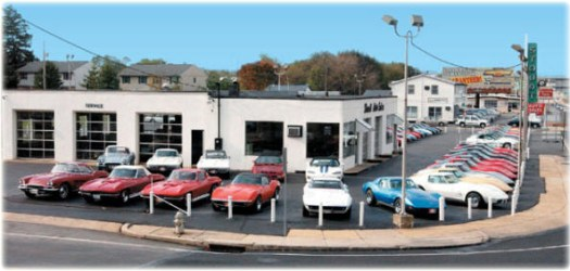 Stoudt's Auto vintage dealership