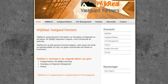 Screenshot WijkReal