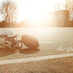 Spruch The Spot und Sonnenuntergang