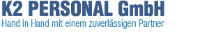 zeigt das Logo der K2 Personal GmbH