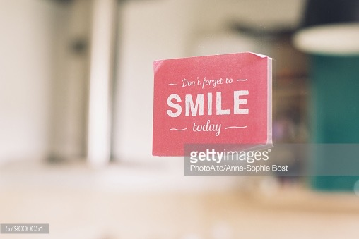 Dont forget to smile ©Getty Images
