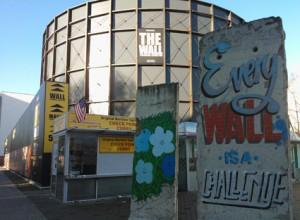 Installationen Die Maur er en af atrraktionerne, som Berlin Welcome Card giver rabat til. Foto: Kirsten Andersen