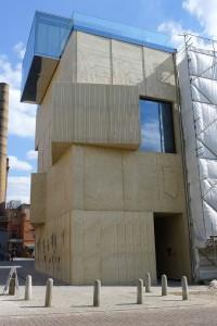Tchoban Foundation, facade. Foto: Rikke Lyngsø Christensen