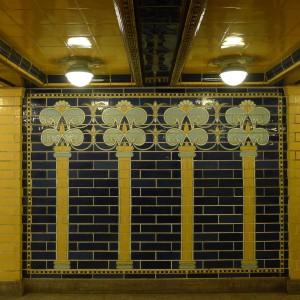U-Bahn-stationen Klosterstrasse. Foto: Rikke Lyngsø Christensen