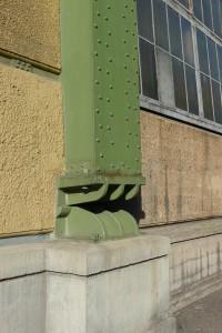 Peter Behrens, AEG-Turbinehal, detalje. Foto: Rikke Lyngsø Christensen