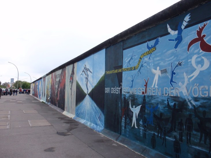 East Side Gallery. Foto: Kirsten Andersen