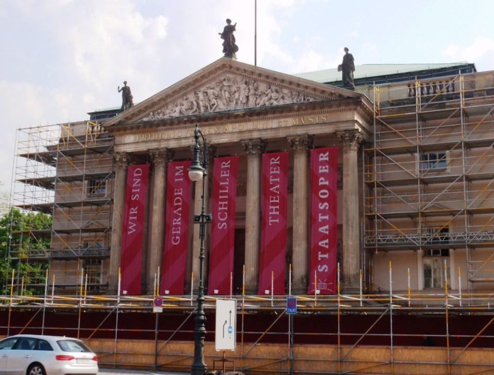 Staatsoper Unter den Linden. Spiller stadig i Schiller Theater. Foto: Kirsten Andersen
