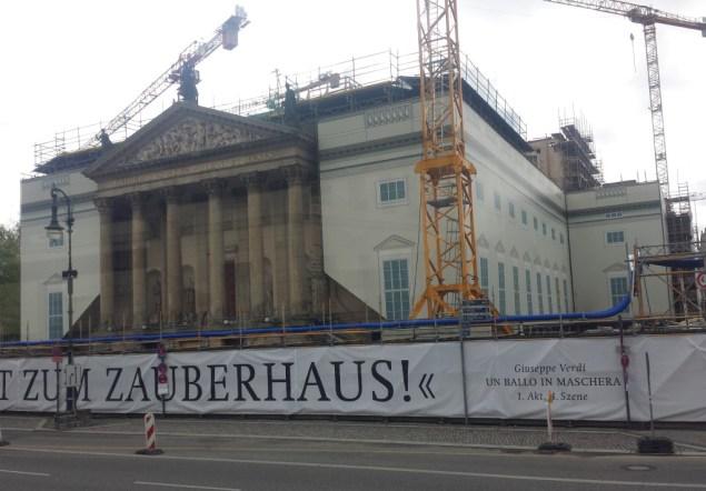 Staatsoper Unter den Linden april 2014. Foto: Kirsten Andersen