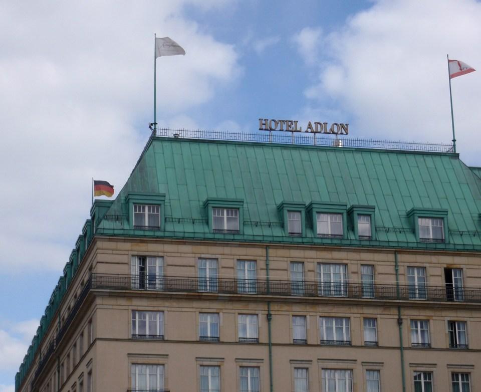 Hotel Adlon. Foto: KIrsten Andersen