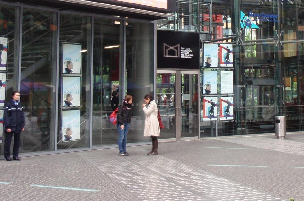 Filmmuseet Potsdamer Platz. Foto: Kirsten Andersen