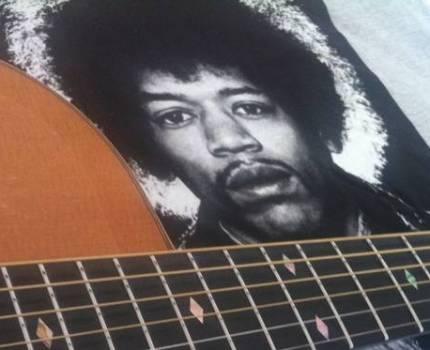 Jimi Hendrix akustisk