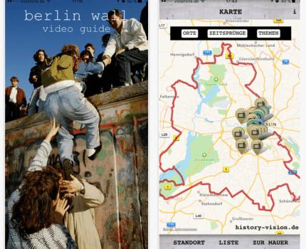 App om Berlinmuren – nu gratis!