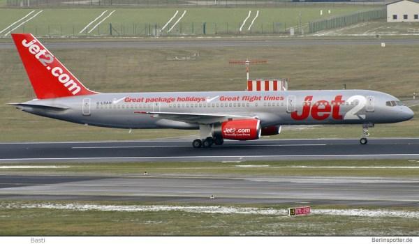 Jet2.com Boeing 757-200 G-LSAH