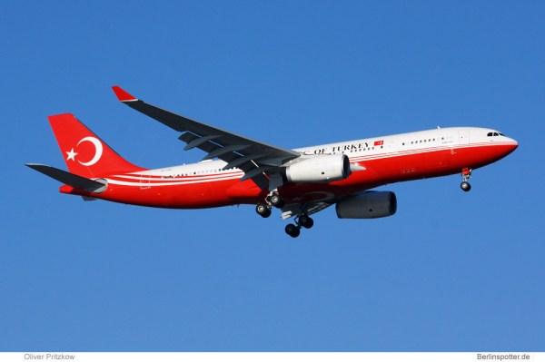 Turkish Gvmt. Airbus A330-200 TC-TUR (© O. Pritzkow)