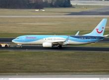 Thomson Airways Boeing 737-800(WL) G-TAWG