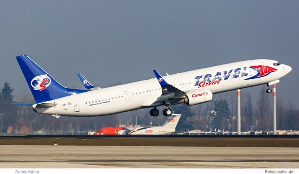 Travel Service Boeing 737-900ER OK-TSI (© D. Kahra)