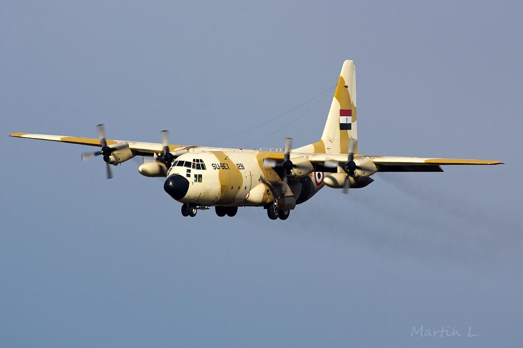 Egypt Air Force, Lockheed C-130 Hercules SU-BEX