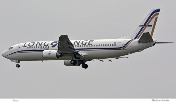GainJet Boeing 737-400 SX-ATF