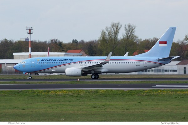 Indonesia Gvmt. Boeing 737-800(BBJ2) A-001
