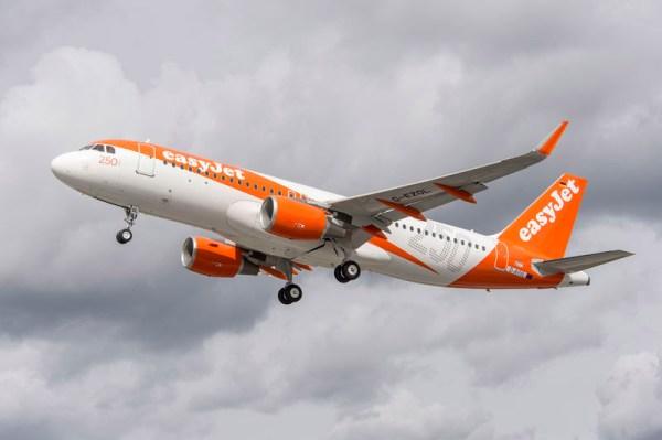 250. Airbus der easyJet (© easyJet)
