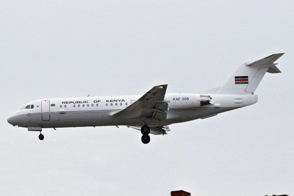Kenya Air Force Fokker 70 KAF 308