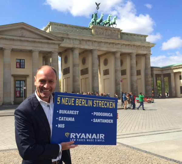 Kenny Jacobs, Chief Marketing Officer von Ryanair