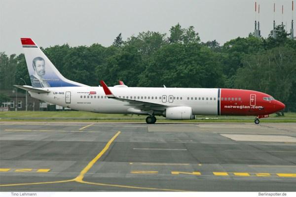 Norwegian Boeing 737-800(WL) LN-NIG