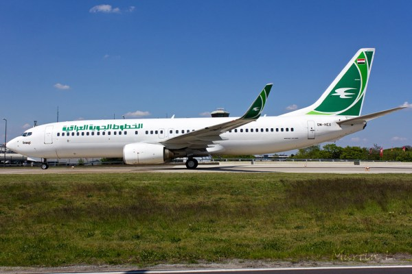 Iraqi Airways Boeing 737-800(WL) OM-HEX