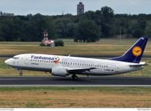 Lufthansa Boeing 737-300 D-ABEK Fanhansa (TXL 19.7. 2016, E. Krüger)